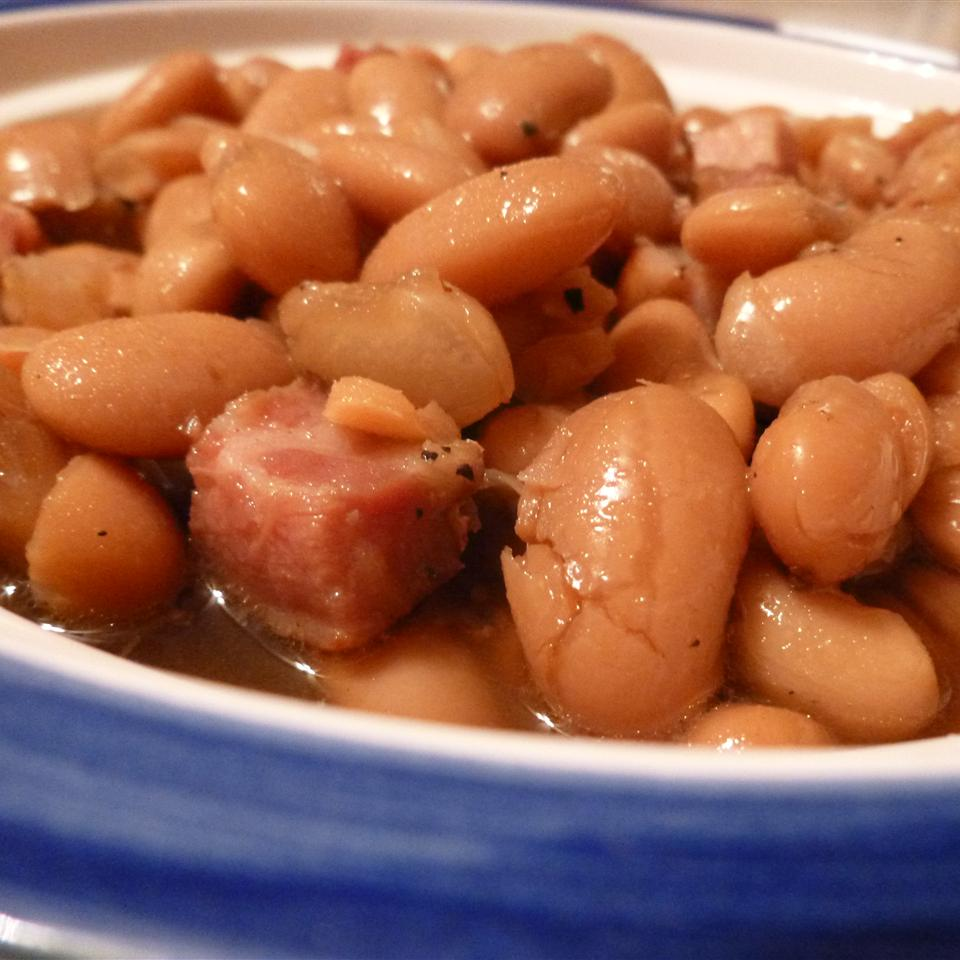 Easy Lima Beans AcaCandy