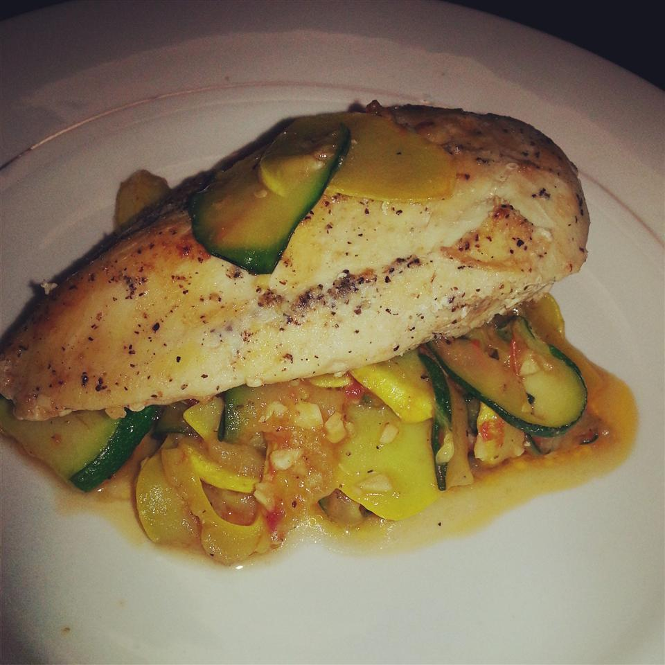 Chicken and Summer Squash Laynii