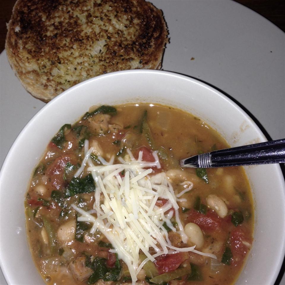 My Canadian Friend's Bean Soup