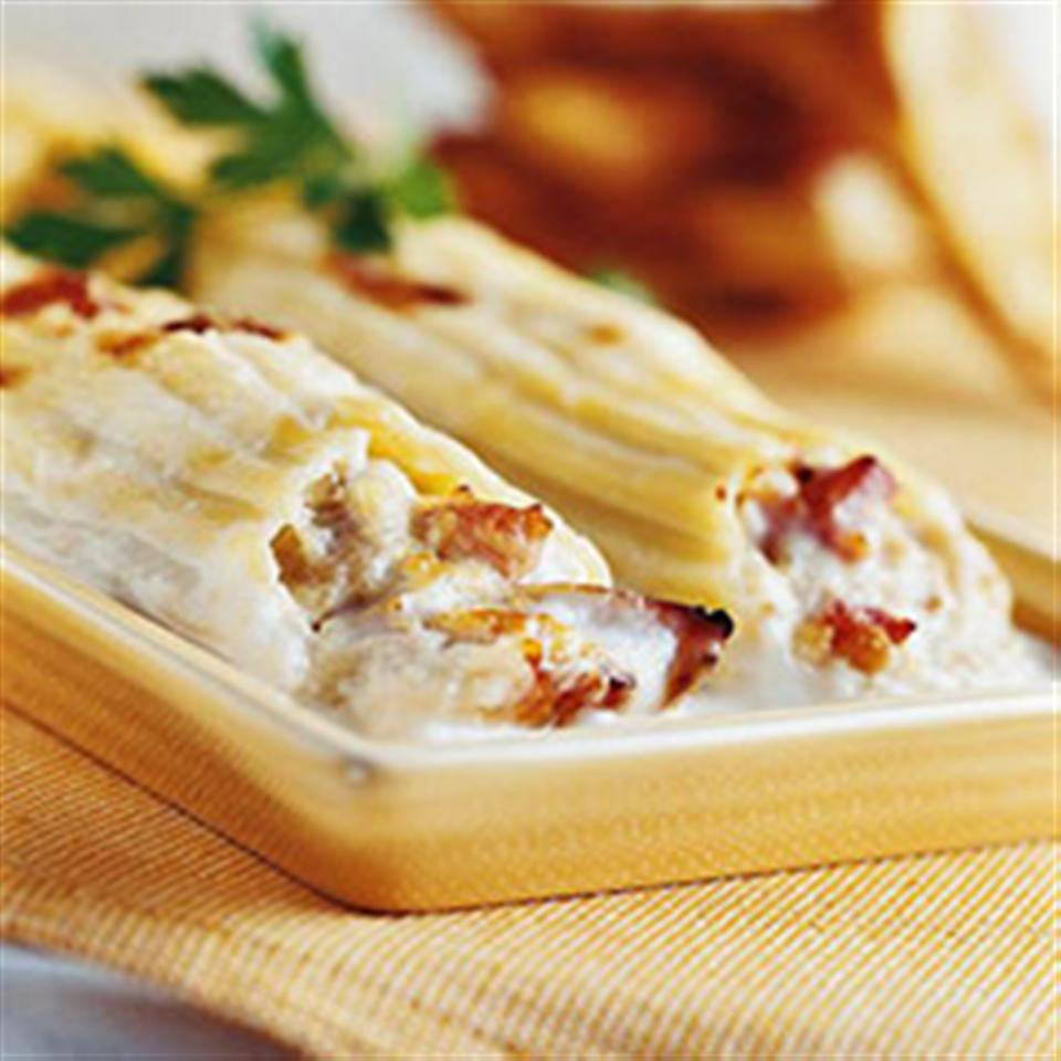Creamy Chicken Manicotti Trusted Brands