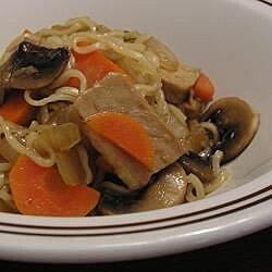 ginger pork stir fry with mushroom recipe