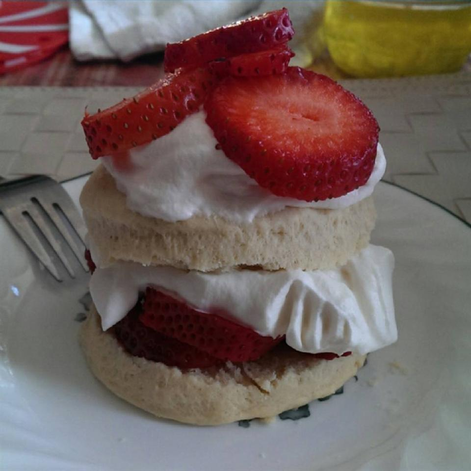 Scrumptious Strawberry Shortcake