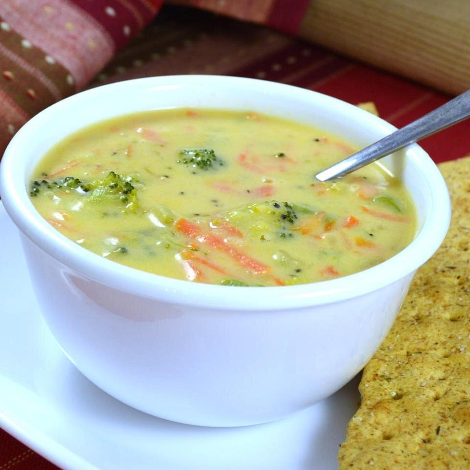 Copycat Panera Broccoli Cheddar Soup Recipe Allrecipes