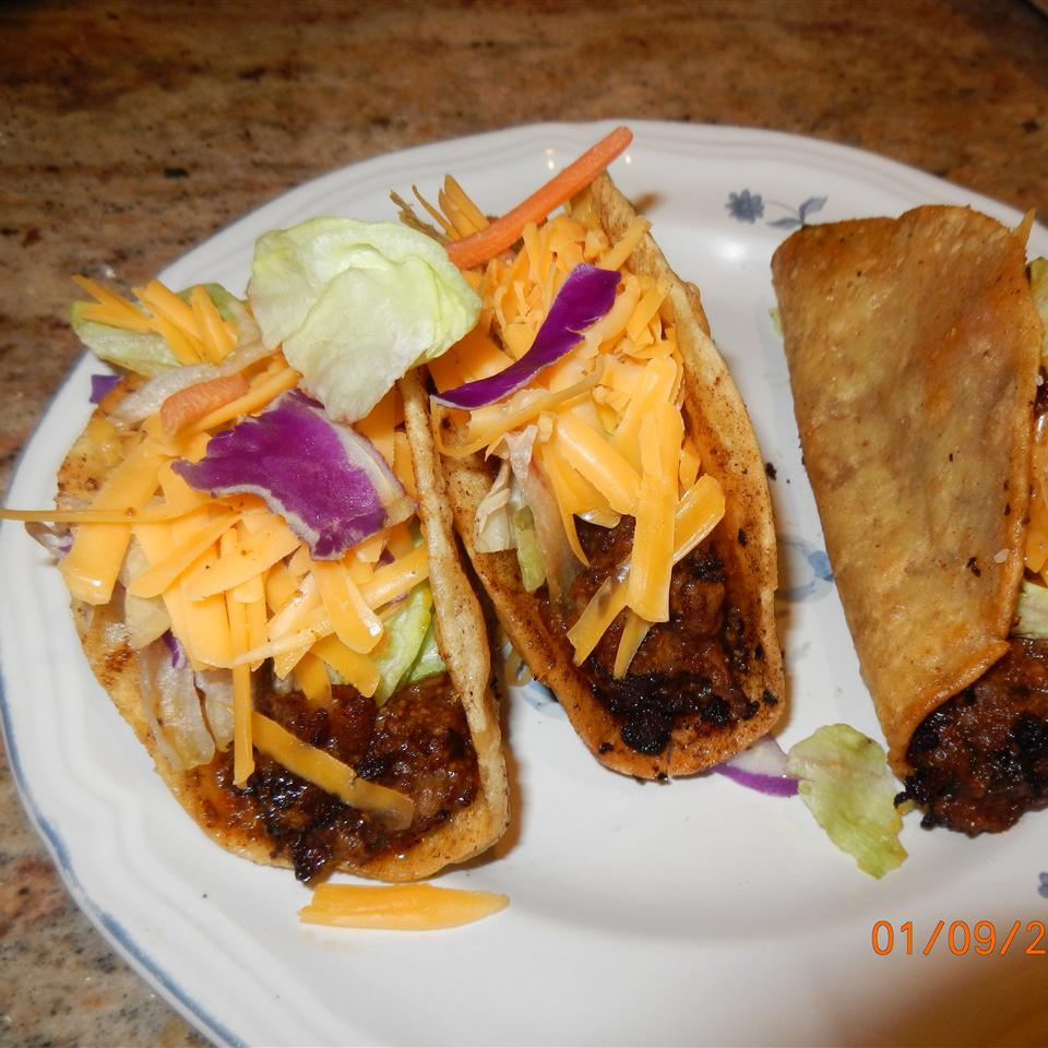 Beef Tacos Patty Cakes