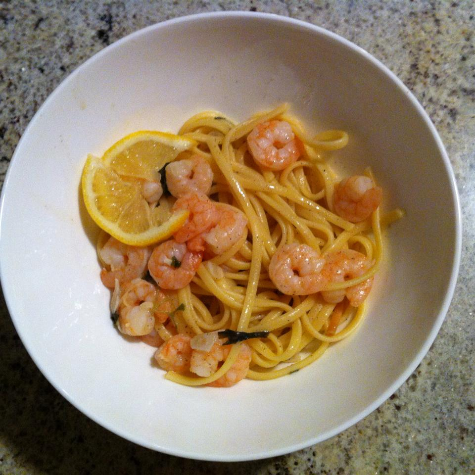 Shrimp Lemon Pepper Linguini Danielle Smikle