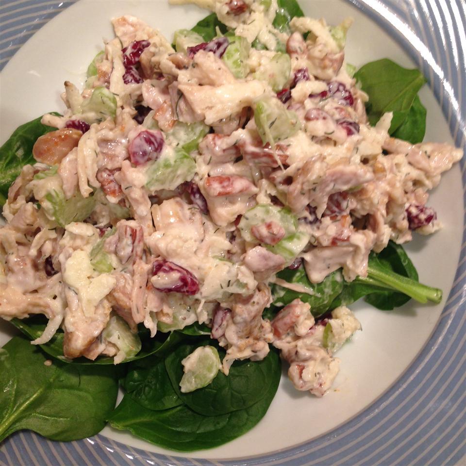Rachel's Cranberry Chicken Salad floeticzeta