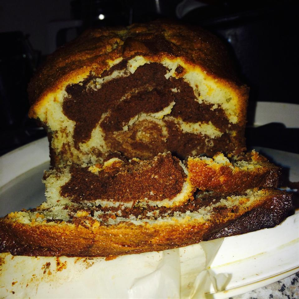 Marble Swirl Pound Cake AbbyJackson
