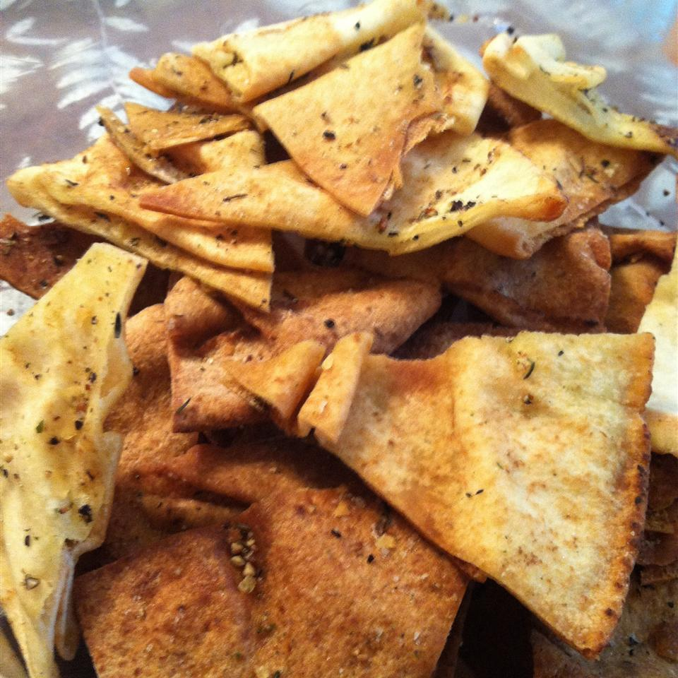 Pita Chips Suziehomemaker