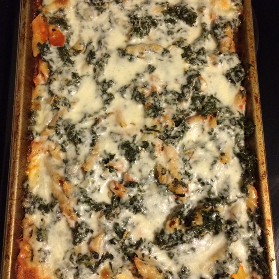 Layered Spinach Mostaccioli Marley Harris (armychiqharris)