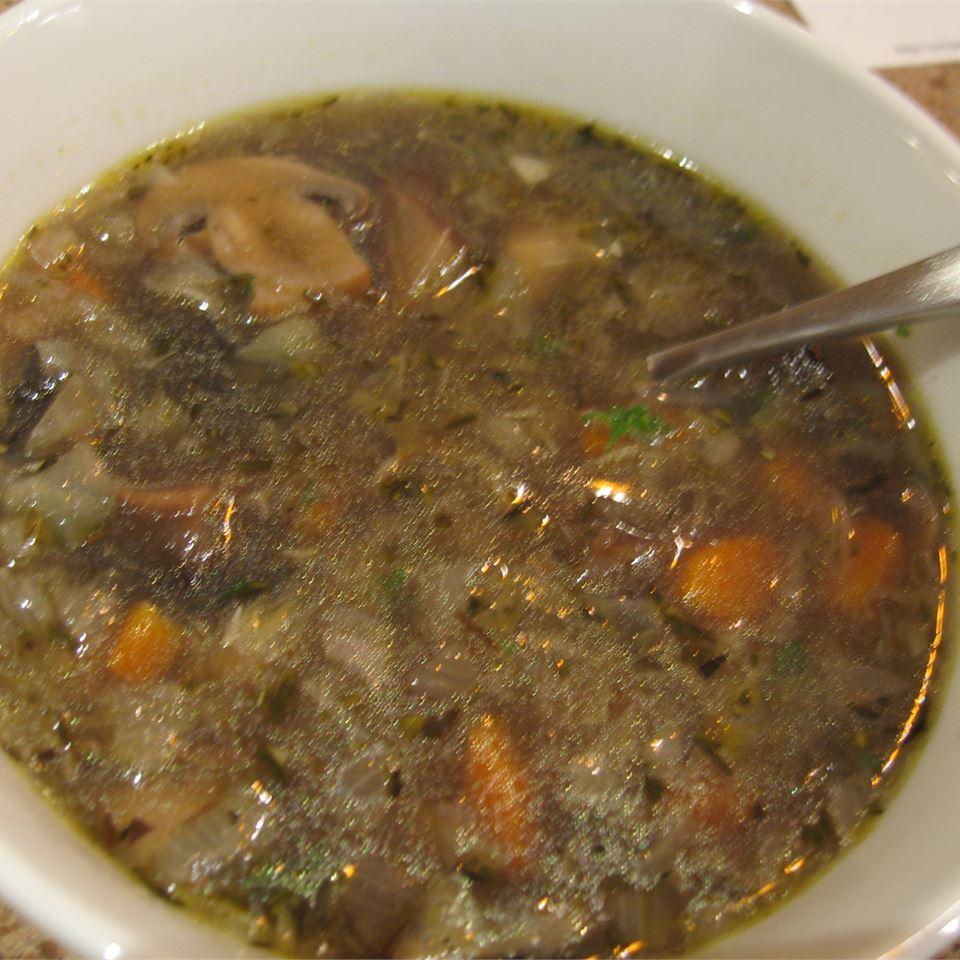 Mushroom and Artichoke Soup somaluna