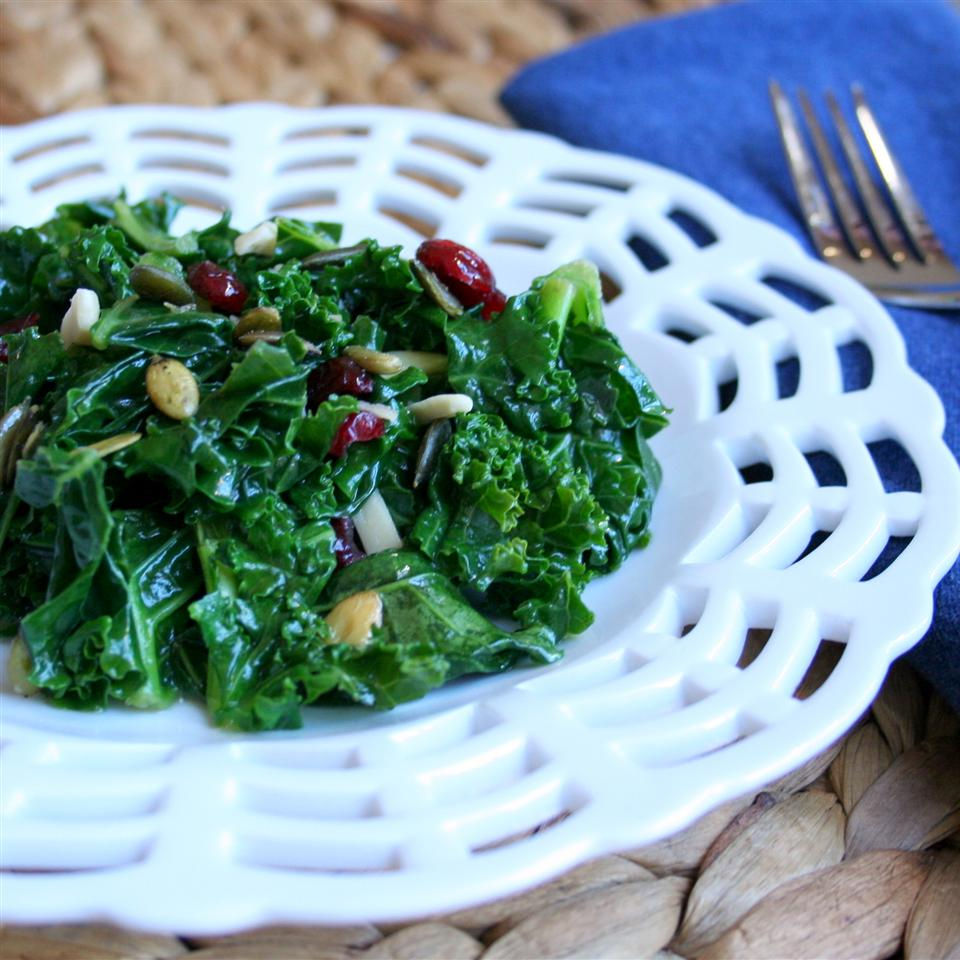 Kale Cranberry Pepita Salad Jennifer Baker