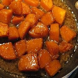 brandied candied sweet potatoes recipe