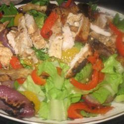 Grilled Chicken Citrus Salad Chef4Six