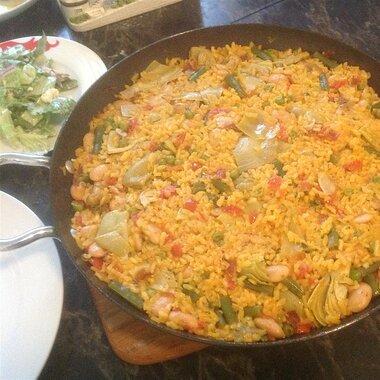 authentic paella valenciana recipe