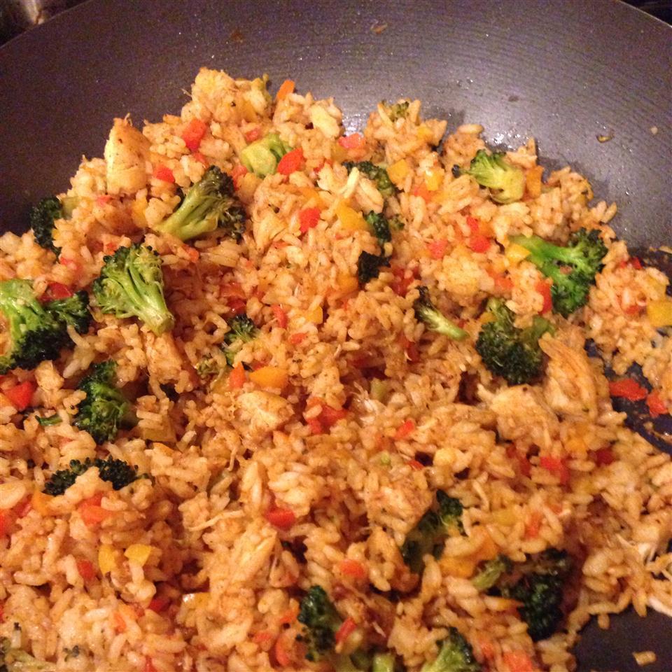 Hearty Garden Chicken and Rice Keyana Medina