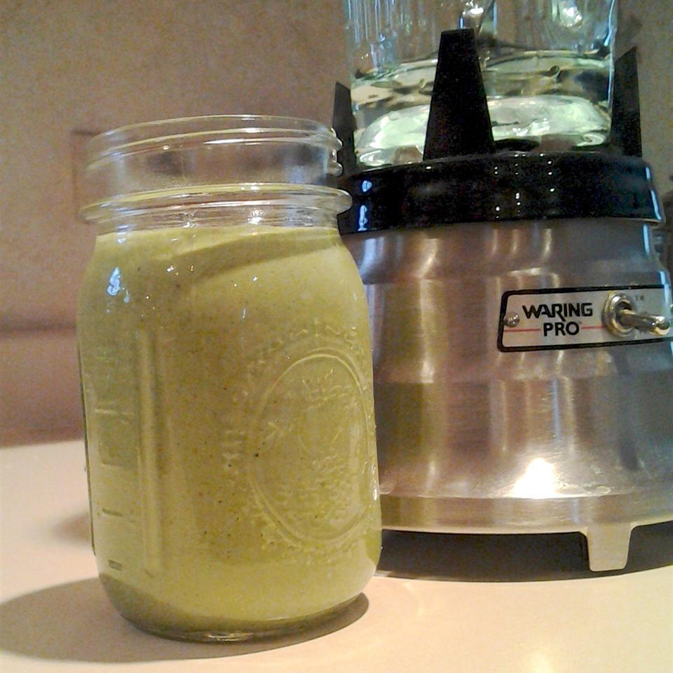 Green Banana and Peanut Butter Smoothie XSarenkaX