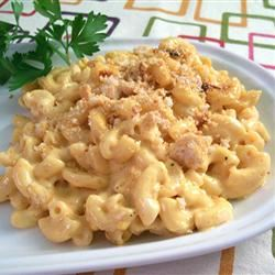 Cafeteria Macaroni and Cheese SunnyByrd