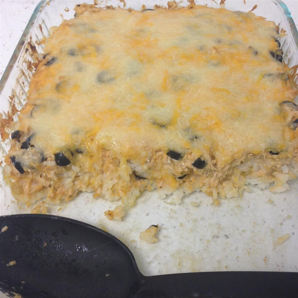Rice With Olives And Green Chile Peppers KristenJ