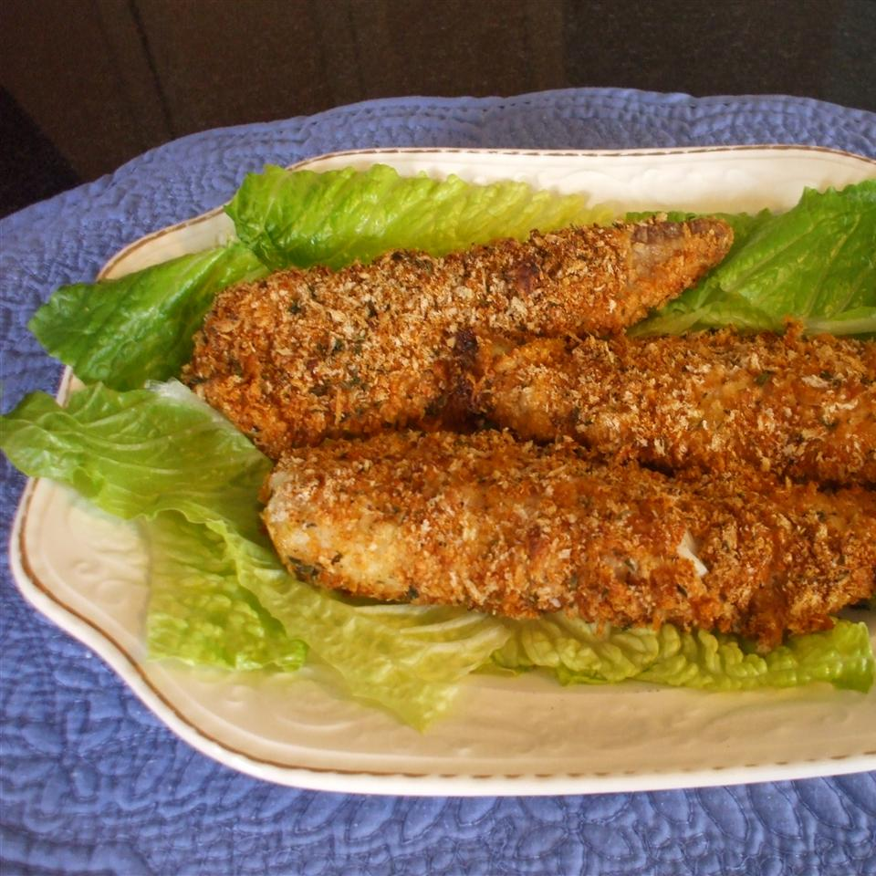 Baked Parmesan Tilapia Auntie Mary Sue