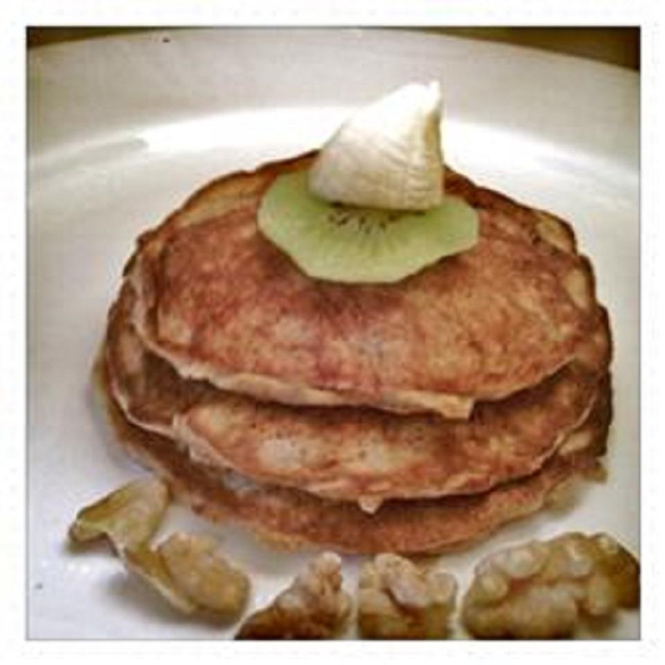Deliciously Healthy Paleo Pancakes With Banana and Walnuts Marilyn