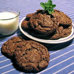 Double Chocolate Mint Cookies CHEFPEON
