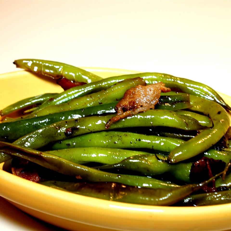 Citrus-Bacon Green Beans Joey Joan