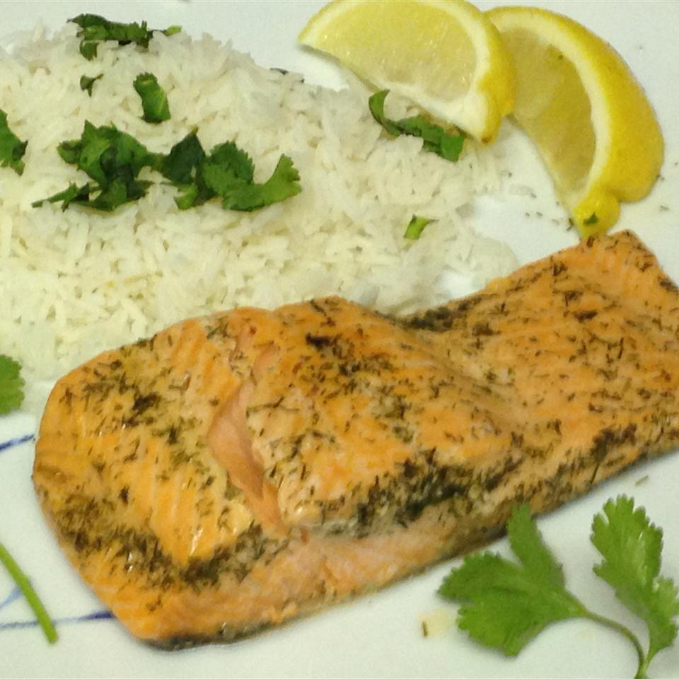 Poached Salmon In The Microwave