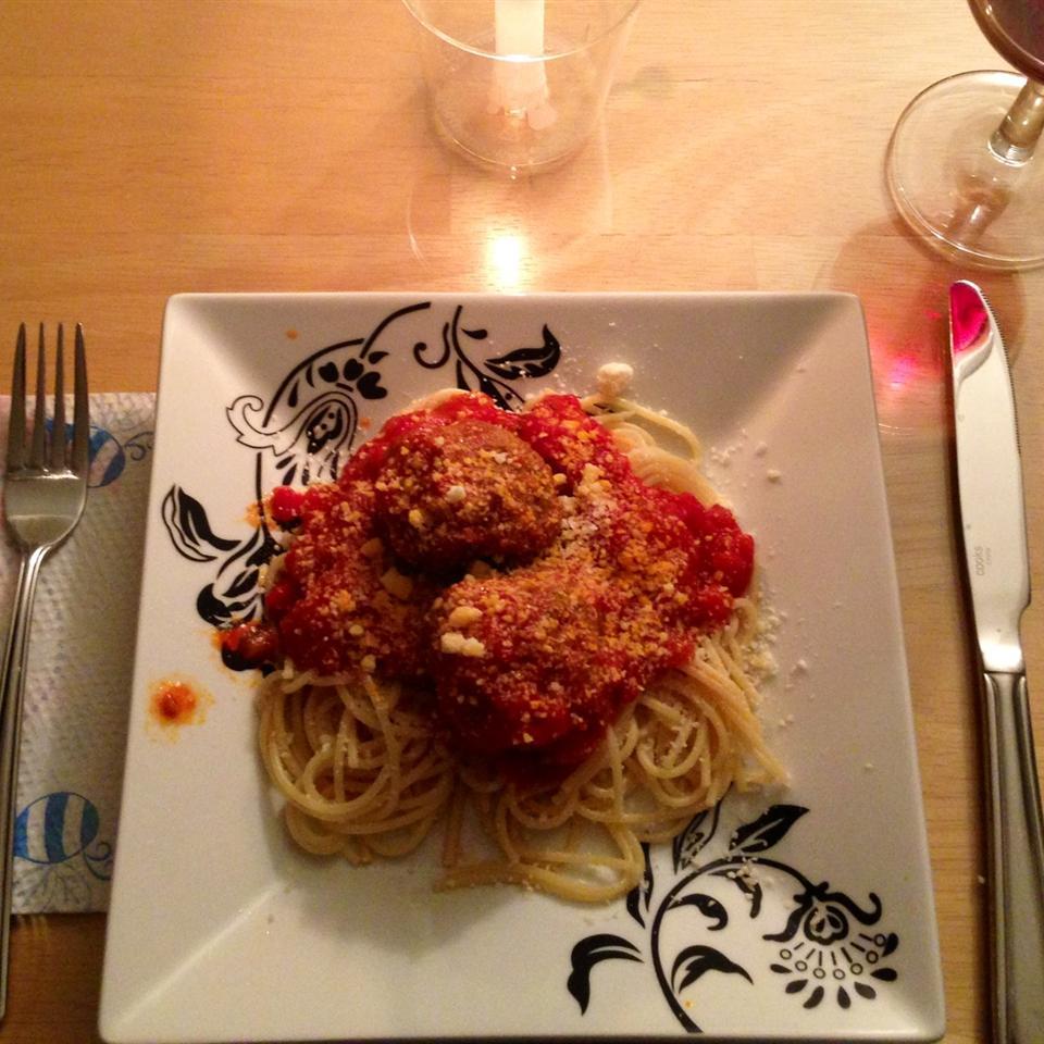 Italian Spaghetti Sauce with Meatballs us2cooks