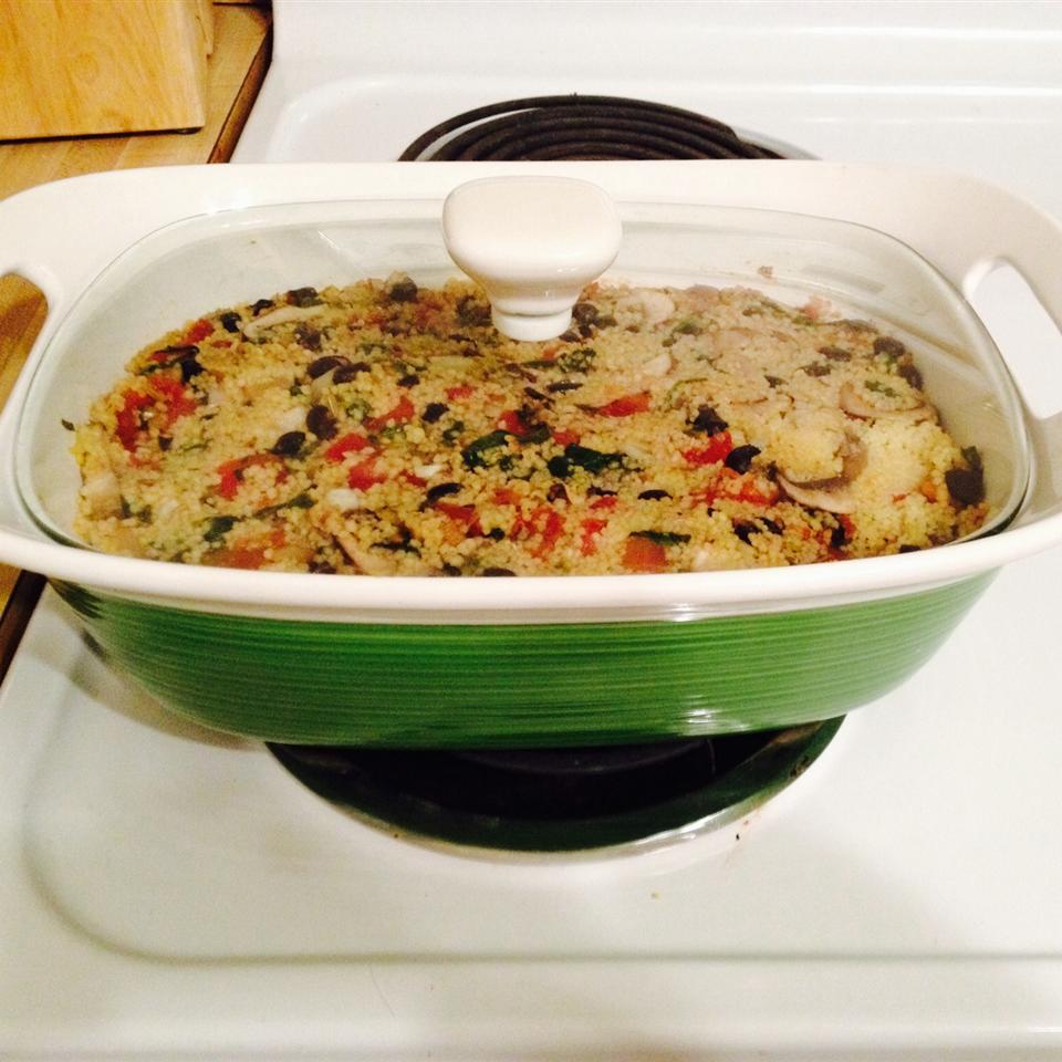 Spinach and Bean Casserole Rachel