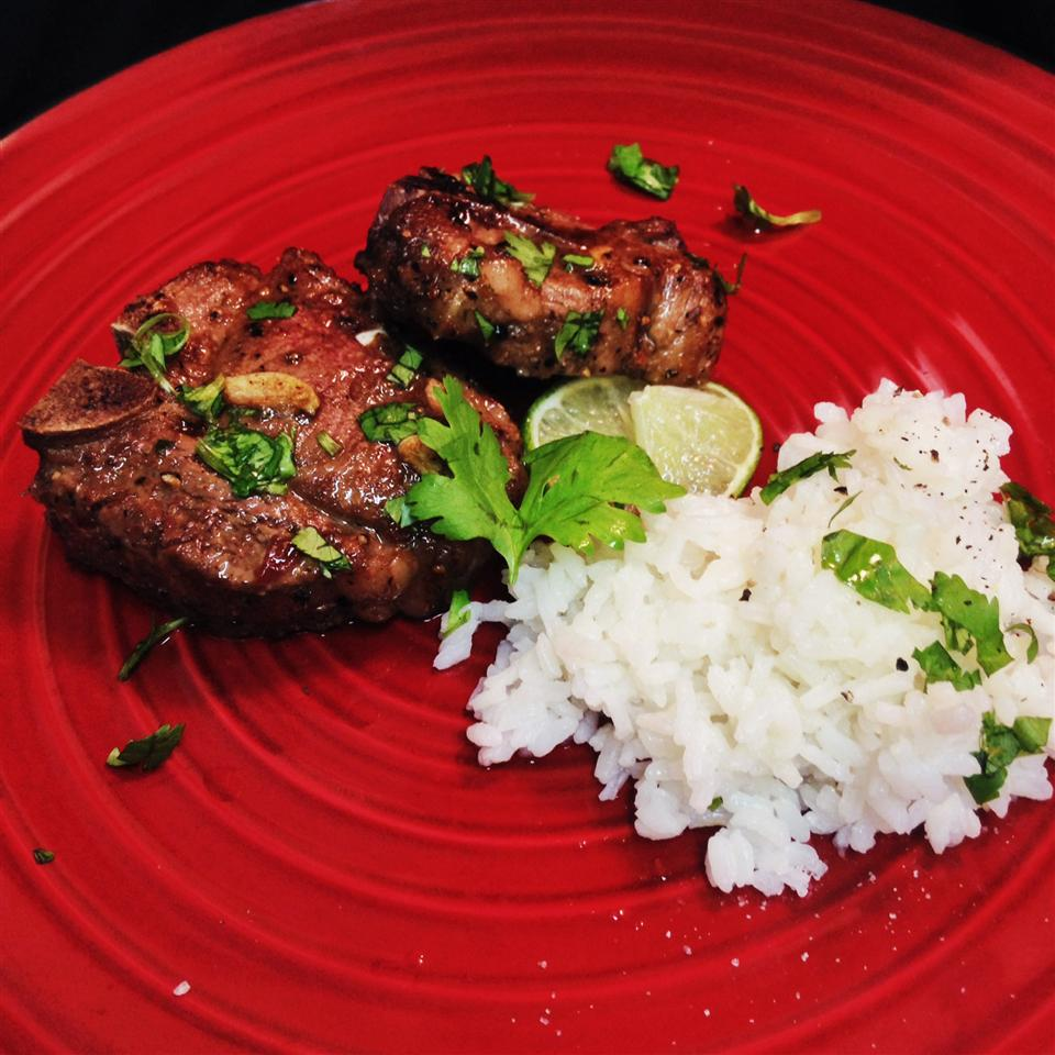 Vietnamese Aromatic Lamb Chops chavannes