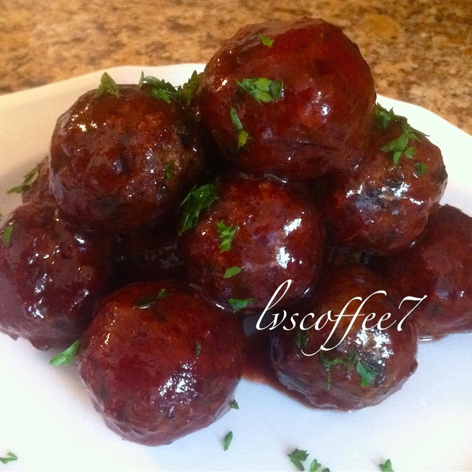 Sweet and Sour Vegetarian Meatballs lvscoffee7