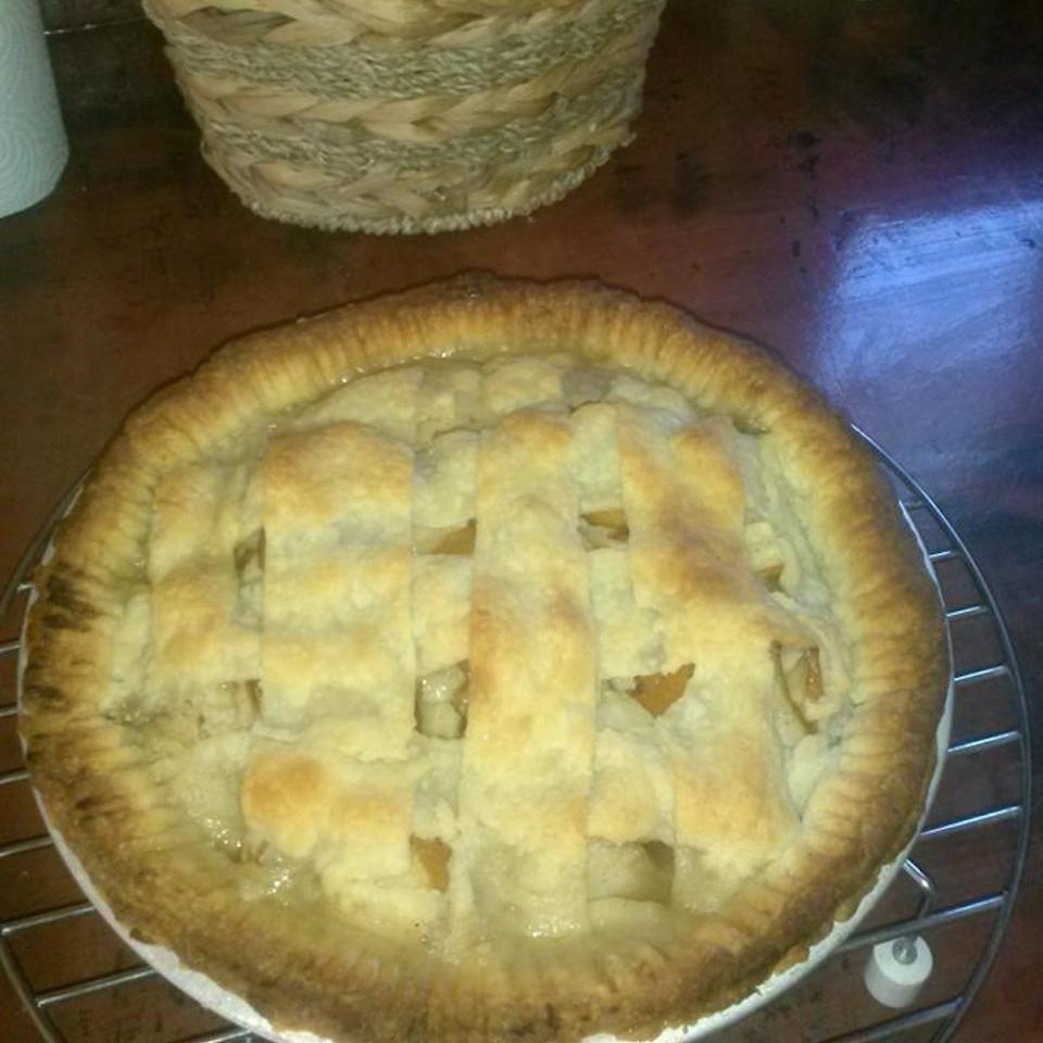 Homemade Pear Pie from Scratch