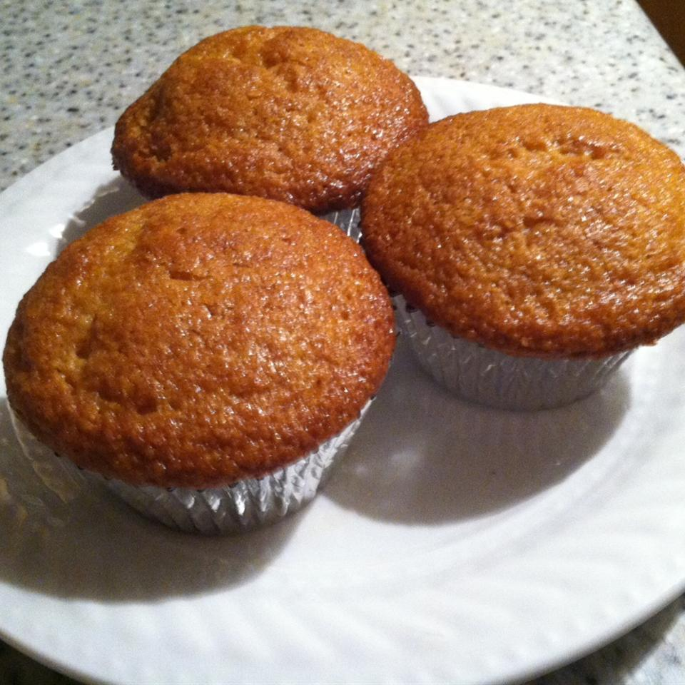Easy Honey Cornbread Muffins