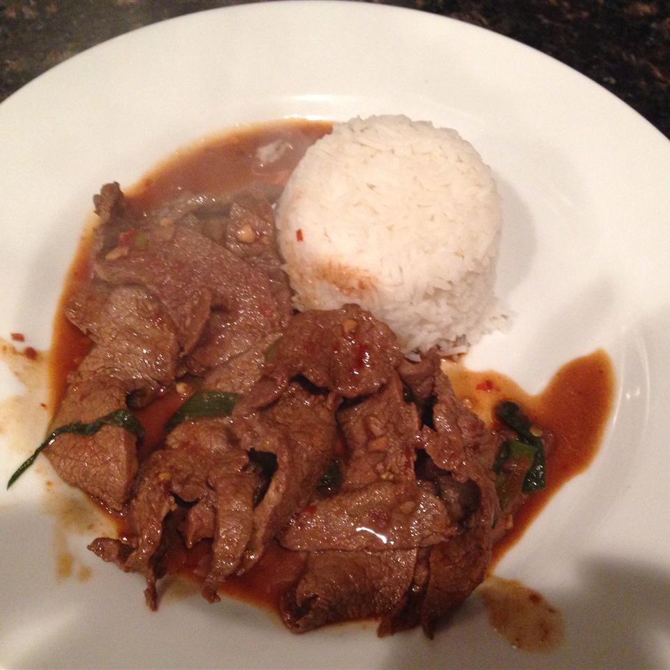 Super-Simple, Super-Spicy Mongolian Beef favorites