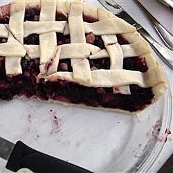 mulberry rhubarb pie recipe