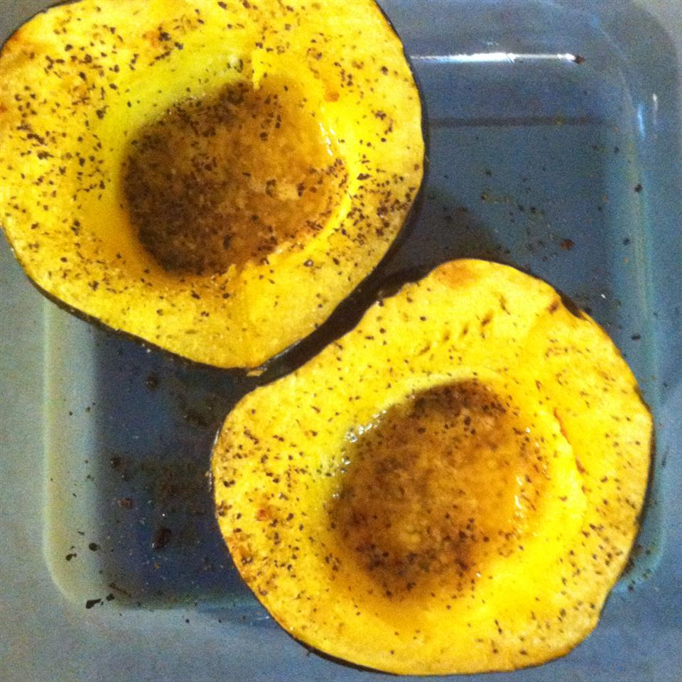 Garlic Butter Acorn Squash ToddFric