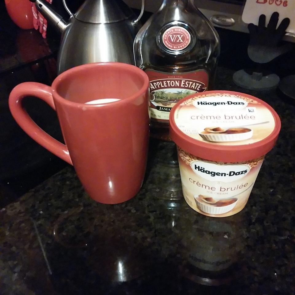 Single Cup Hot Buttered Rum Lynette Nuttbrock