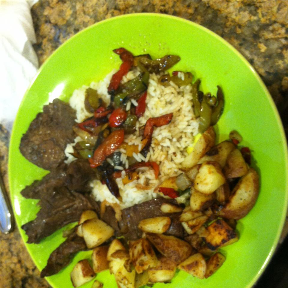 Sizzling Bison Steak Stir-Fry Kasey Marie King