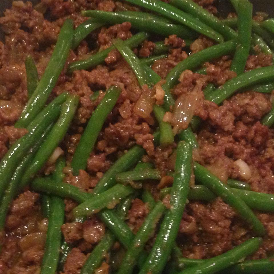 Gel's Green Beans and Beef eric&erin