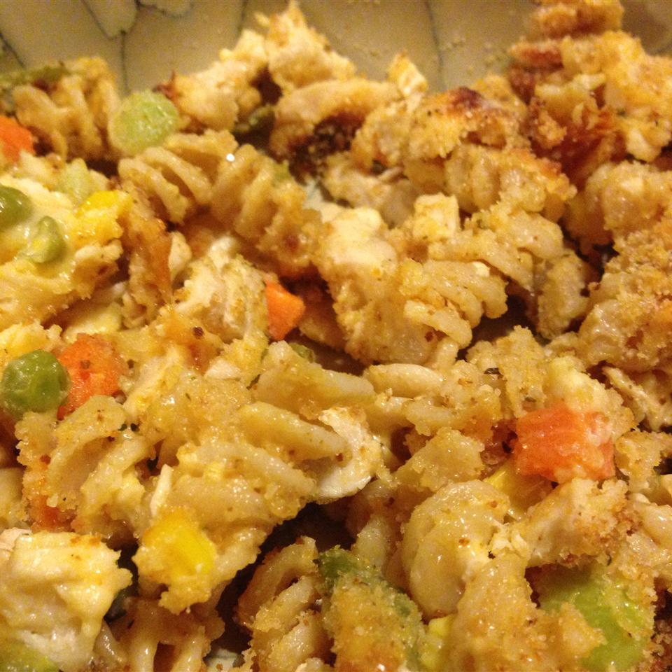 Easy Mac and Cheese Veggie Chicken Casserole from Country Crock® Jason Campbell