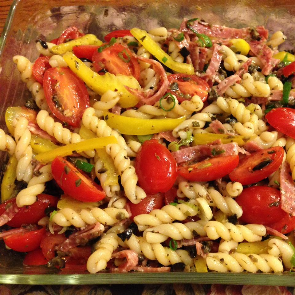 Greek Pasta Salad I Terry