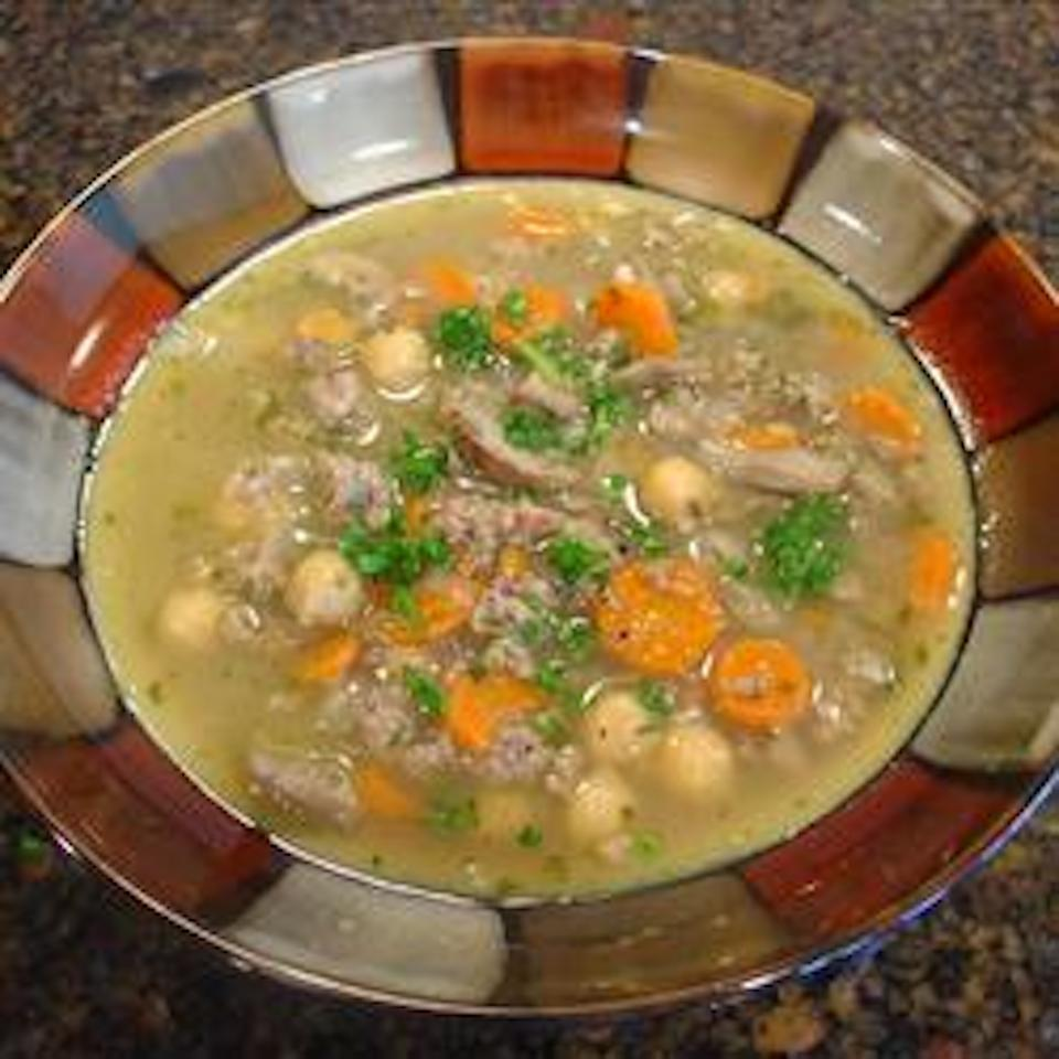 Italian Sausage and Bean Soup Sharon