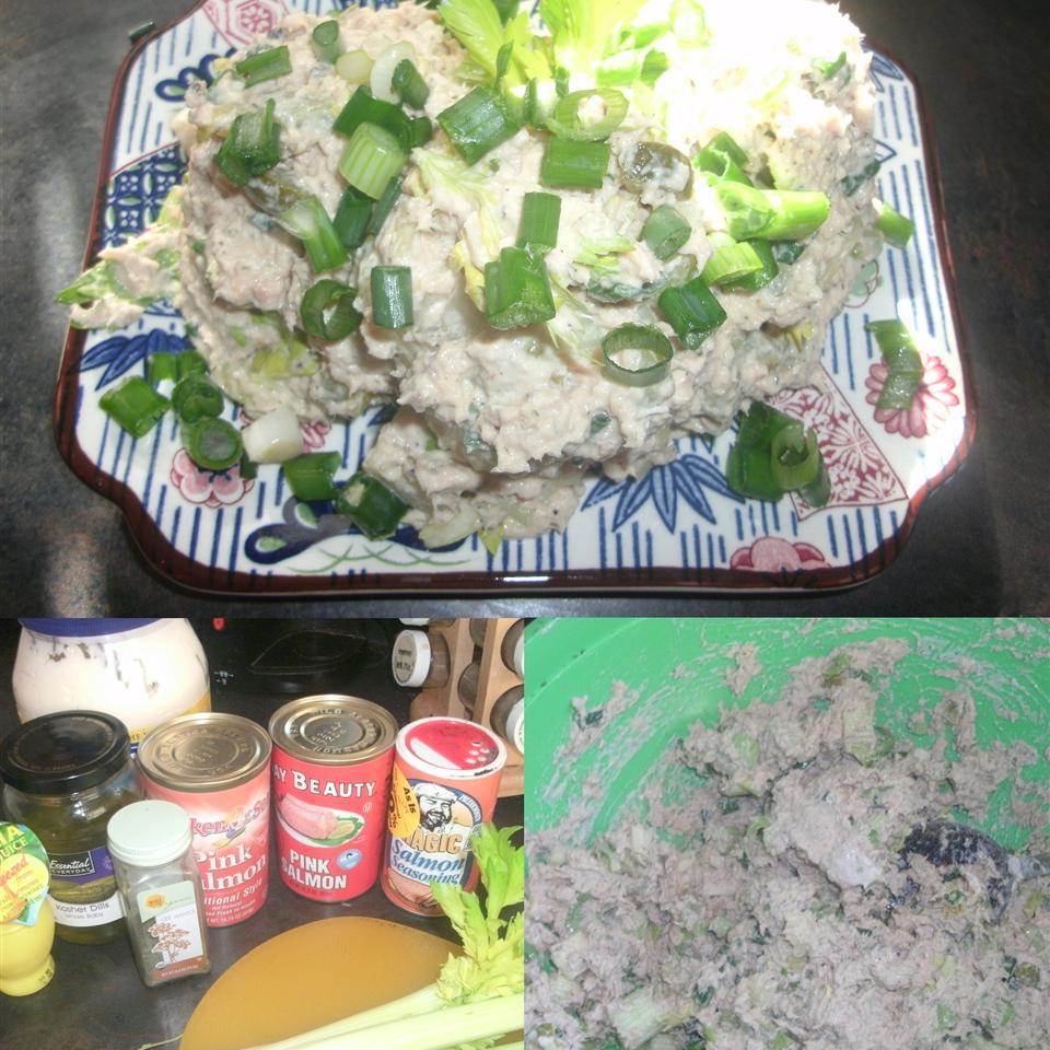 Quick Salmon Salad Sarah Collver