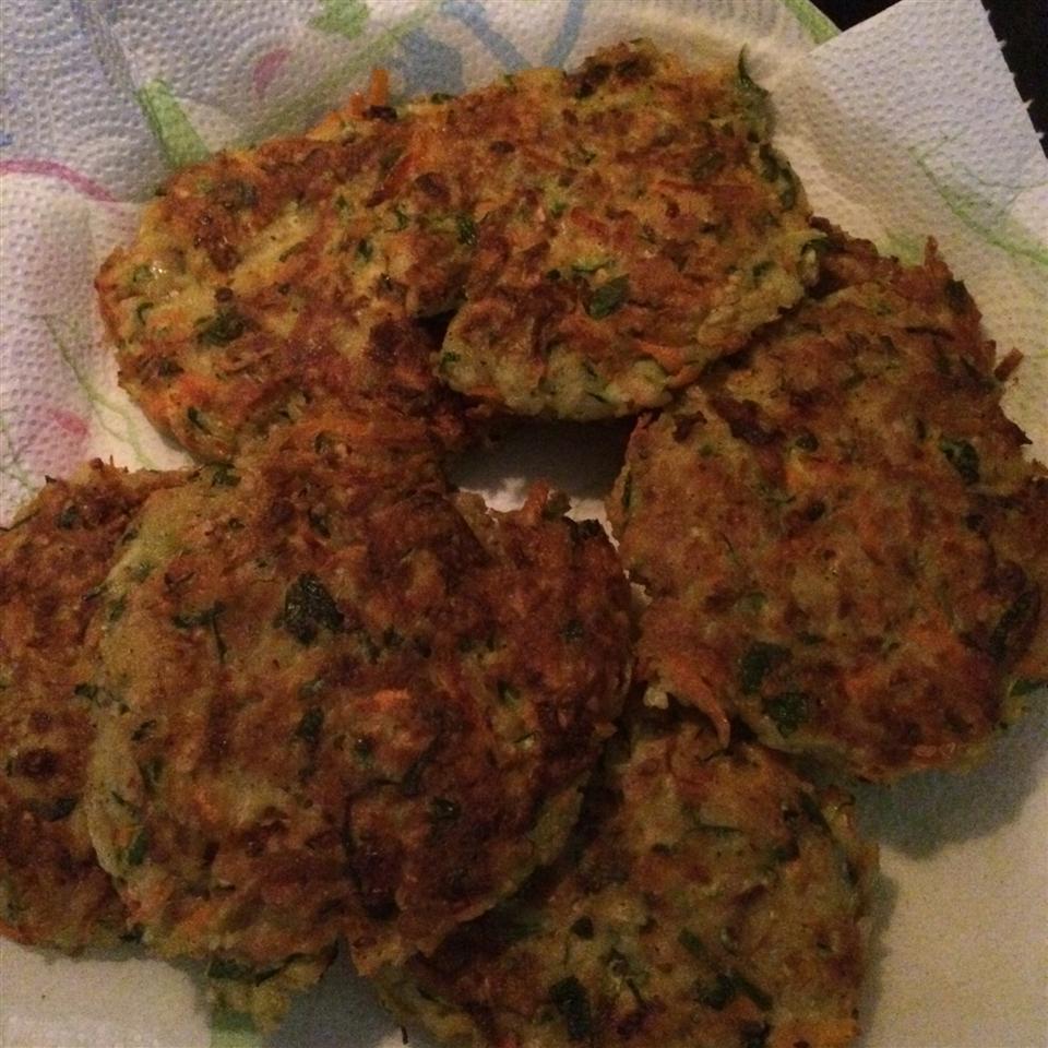Vegetable and Feta Latkes Joanna