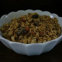 Easy Cranberry Granola Parie
