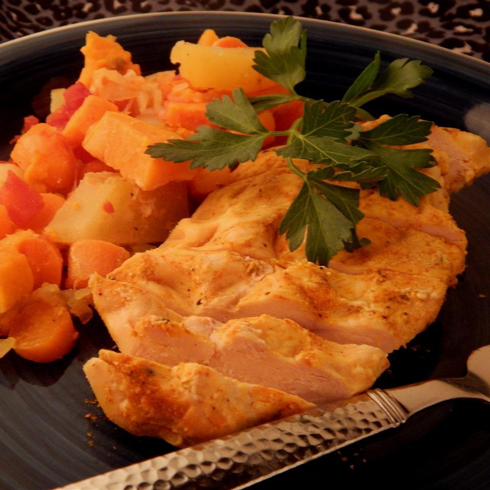 Golden Vegetable Chicken Keren