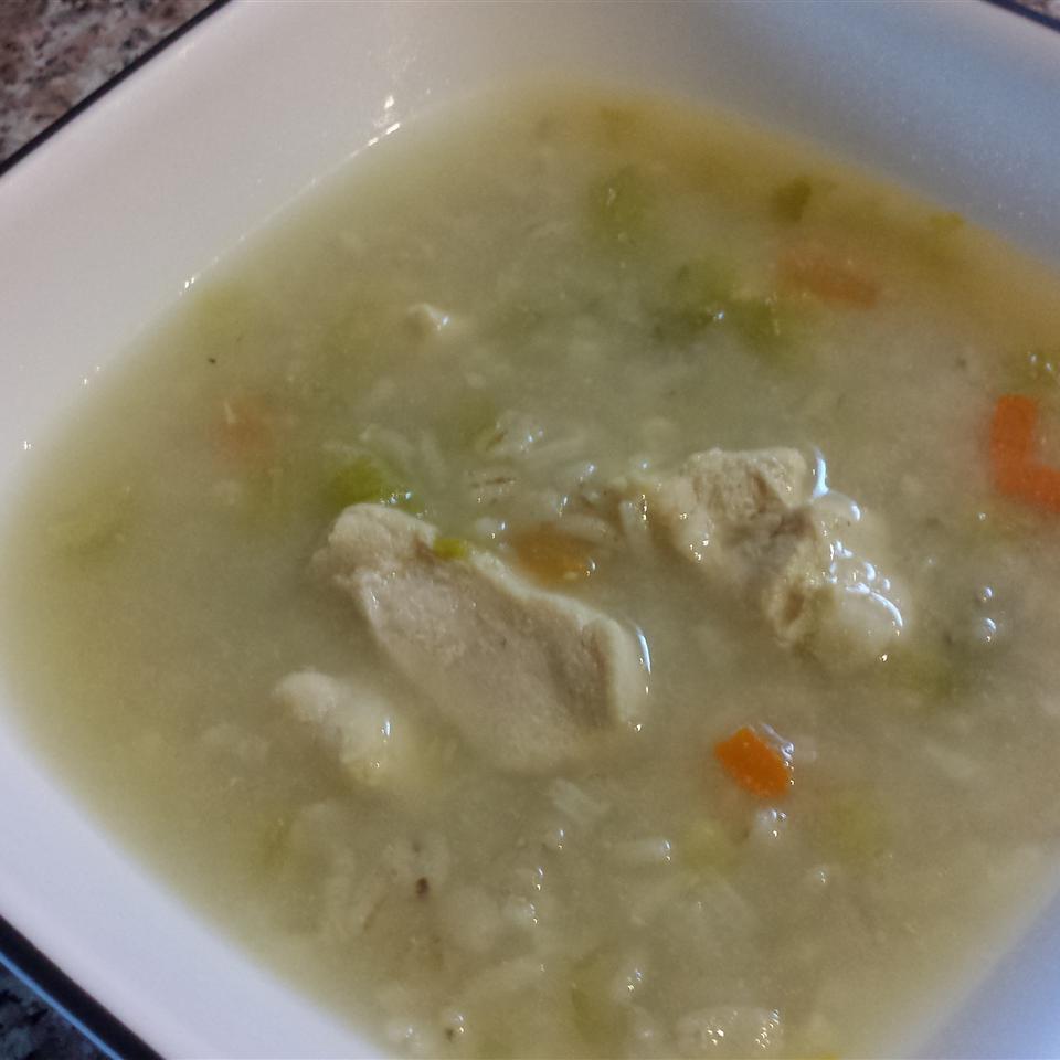 Quick Easy Chicken Barley Soup