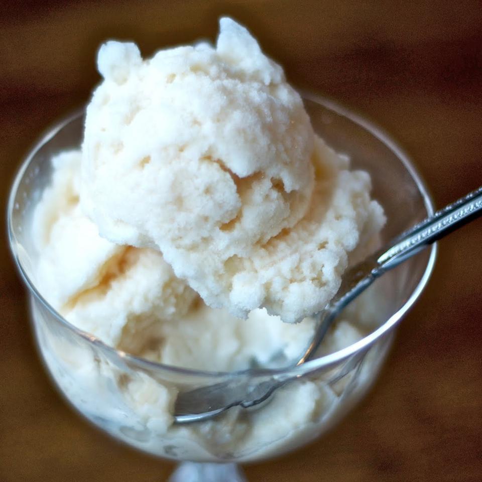 Easy Snow Ice Cream