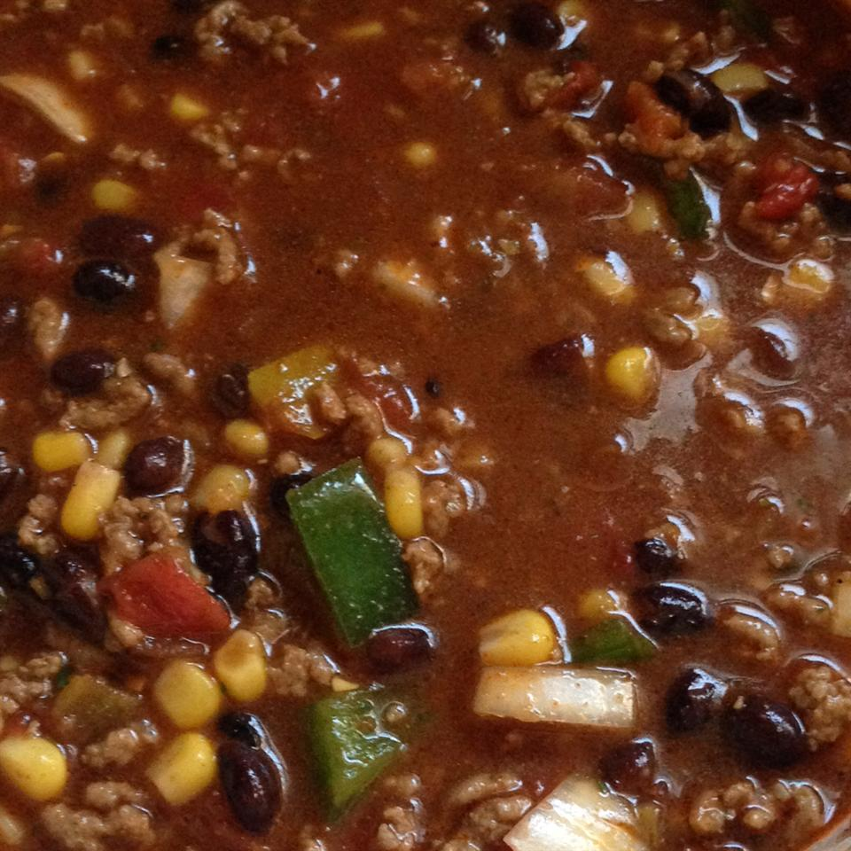 Slow Cooker Taco Soup with Ranch Dressing Mix dem
