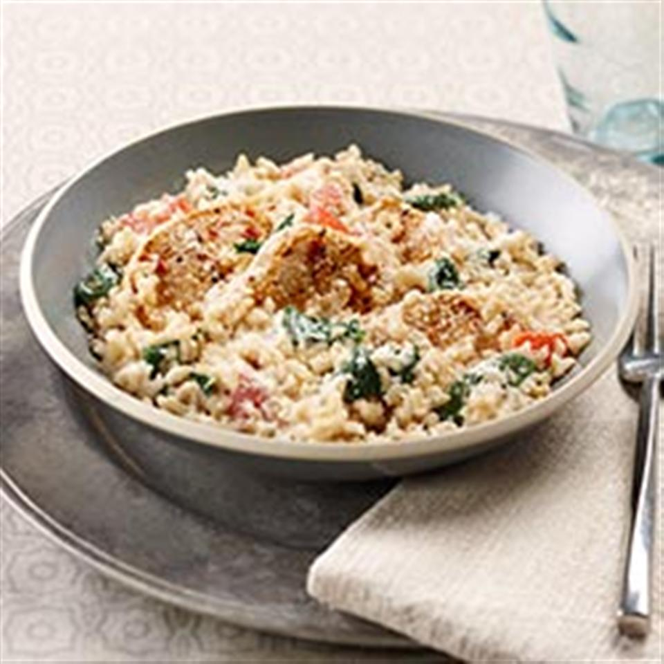 Creamy Rice, Chicken and Spinach Dinner Trusted Brands